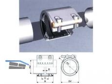 Straub Metal Grip EPDM 76.1 ES Metall/Metall