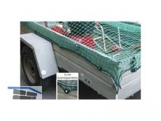 Container-Netz 3x4m m.Gummieinzug MW45x45x3mm f.Anhänger 2,20x3,60m