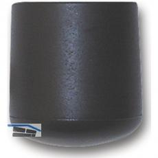 SECOTEC Fußkappen für Rundrohre aussen 22 mm schwarz SB-4