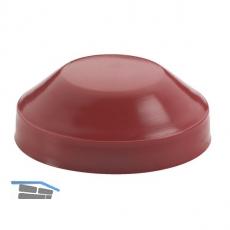 Achsendkappen 20 mm für Achse 20 mm Kunststoff rot Inhalt 2 Stück