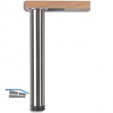 Tischfuß DM 60x700 mm verchromt, SB-Verpackt