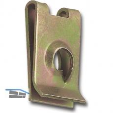Blechmutter  5,5 mm /1,25-2,0 mm Federstahl verzinkt für Blechschrauben
