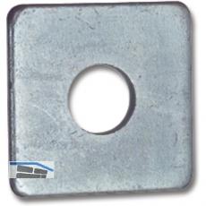 SECOTEC Vierkantscheibe DIN436 M 12 verzinkt-blau KP-50