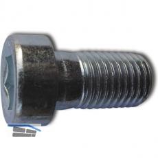DIN6912 10.9 M 6x 16 blank Zylinderschraube mit niedrigem Kopf und Innensechskt.