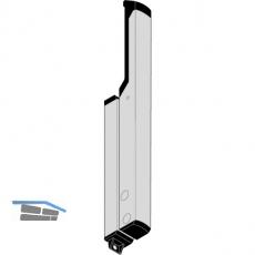 Zubehör GEZE OL 90 N für flexible Übertragung, Aluminium weiß RAL 9016