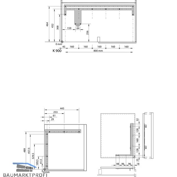vauth sagel waco eckschrank schwenkauszug korbvariante saphir li stahl silber baumarktprofi. Black Bedroom Furniture Sets. Home Design Ideas