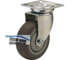 Apparate-Lenkrolle Serie ALR P-F  50 mm Platte 60x60 mm, max.  40 kg