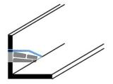 ALU-Profil natureloxiert 2000mm Winkel gleichsch. 30x30x1,0mm   10176