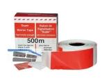 Absperrband rot/weiß 67 mm breit 100 lfm