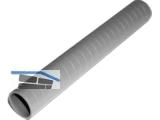 Abstandsrohr 22/26 (Länge 2000 mm) Kunststoff gerillt, Bnd. 50m, Pal. 2500m