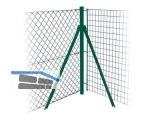 Ecksäule Oktavia 2000 grün Gb 1,0 m   750191 +3Spannschr.6Klemmhüls