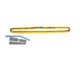 Rundschlinge 3000 kg  NL 0.5 UL 1m  gelb Doppelmantel EN 1492-2