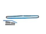 Rundschlinge 8000 kg  NL 1,0 UL 2m blau Doppelmantel EN 1492-2