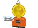 Baustellenleuchte  LED inkl. Halterung gelb/gelb Blink- und Dauerlicht