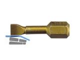 Biteinsatz C6,3   4,0x0,5x25 mm 1/4\ DIN 3127 Format 64210005