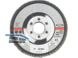 Fächerschleifscheibe Format 125mm K40 gewölbt 82740040