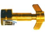 AL Propan-Umfüllstutzen G 3/8 LH m. 6-kantmutter f.Kleinfl.425g  414.094.542
