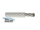 Drahtseil kunststoffummantelt 2/3 mm 6 x 7  FE  10 lfm Belastung max. 48 kg