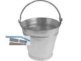 Eimer verzinkt 11 Liter m.Tragebügel und Bandeisenfuss, Durchm.295mm/H: 325mm