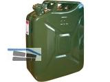 Benzinkanister Blech 20L Deutsch  04AA05
