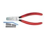 Adernendhülsenzange Knipex 145mm 9761/145A pol./Plast.