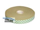 Doppelklebeband 3M4026 Acrylat weiss 19mmx10mx1,6mm