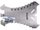 Anreißschablone WGF 278601 INOX 1,3mm gehärtet 140x100mm