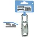 Blockseilrolle mit Öse für 7 mm Seil einrollig, DM 25 mm, 1 Stk/KTE