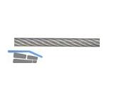 Drahtseil verz 3/4,5 kunststoffummantelt 6 x 7  FE  30817
