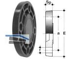 Blindflansch PVC-U PN10/16 110 FCV 110
