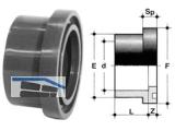 Bundbuchse mit Nut PVC-U   110 QGV 110