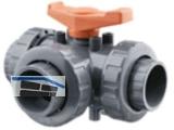 3-Wege-Kugelhahn PVC-U   20 VLIV 20  EPM