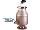 Be- und Entlüftungsventil 9864 NW 100  Niro-Stahl für Abwasser