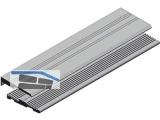 Ausgleichsprofil HAP 2 EV1  H-00475-01-0-1 (Stange = 2200 mm)
