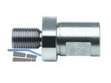 BDS Bohrfutteradapter Außengewinde 1/2\x20NF,19mm Weldon, ZAP100