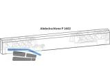Abdeckschiene GU P 1602 966/200 braun 9-38801-60-0-5