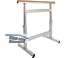 Alu-Arbeitsbock verstellbar 700-1000 mm 030400