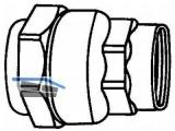 Anschlussverschraubung m. Innengewinde Isiflo Typ 116   20 mm x1/2\