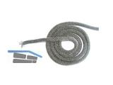 Dichtschnur flach 10x2mm schwarz 196915