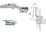 Aventos Alurahmenscharnier HF 134° zum Schrauben, ohne Feder 78Z550AT 679.7303