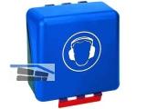 Box Secu Gebra Midi Standard blau für Gehörschutz 23,6x22,5x12,5 cm