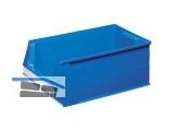 Sichtlagerkasten - Systembox SB2 500x310x200mm blau