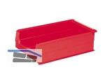 Sichtlagerkasten - Systembox SB2 500x310x200mm rot