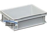 Transportstapelkasten Newbox NB10V1 400x300x120mm grau  Muschelgriff