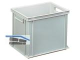 Transportstapelkasten Newbox NB31V1 400x300x320mm grau  Durchfassgriffe
