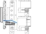 Abdeckwinkel VX 7560 KK  zu Aufnahmeelement Edelstahl
