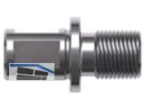 Adapter mit Weldonschaft 19mm (3/4\) auf für M 18x6 P1,5