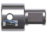 Adapter mit Weldonschaft 19mm (3/4\) auf Quick-In