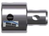 BDS Adapter mit Fein Quick-In auf Weldonschaft 19 mm (3/4\)   ZAF 004