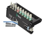 Bit-Sortiment INOX BC 10/9 Bit-Check TX+PH+PZ   9-teilig + Halter  071110